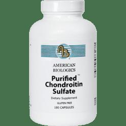 American Biologics Chondroitin Sulfate 180 caps CHO32