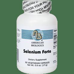 American Biologics Selenium Forte 200 mcg 90 caps SEL26