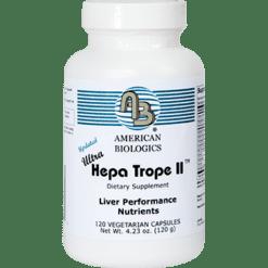 American Biologics Ultra Hepa Trope II 120 caps UL139