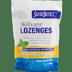 American Biotech Labs Silver Lozenges Manuka Honey 21 loz AB4901