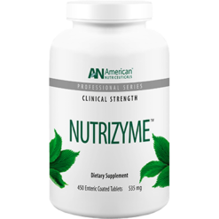 American Nutriceuticals LLC Nutrizyme 450 tabs A02139