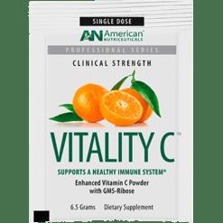 American Nutriceuticals LLC Vitality C Powder 6.5 g 20 pkts A02177