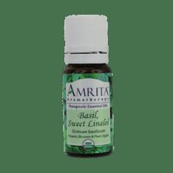 Amrita Aromatherapy Basil Sweet Linalol 10 ml BAS17