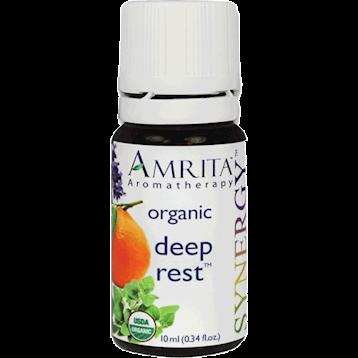Amrita Aromatherapy Deep Rest Organic 10 ml DEEPR