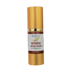 Amrita Aromatherapy Myrrh Facial Creme for Mature Skin 1oz AM3301