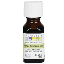 Aura Cacia Atlas Cedarwood Essential Oil .5 fl oz A12192