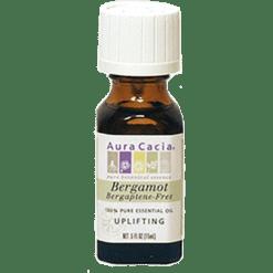 Aura Cacia Bergamot BF Essential Oil .5 oz A11058