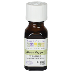 Aura Cacia Black Pepper Essential Oil .5 fl oz A12208