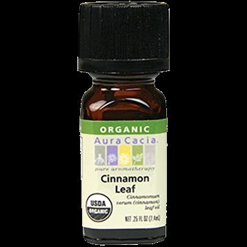 Aura Cacia Cinnamon Leaf Organic Ess Oil .25 oz A08294