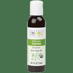 Aura Cacia Jojoba Organic Skin Care Oil 4 oz A06085