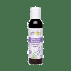 Aura Cacia Relaxing Lavender Body Oil 4 oz A86189