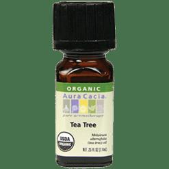 Aura Cacia Tea Tree Organic Essential Oil .25 oz A08041
