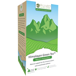 Ayush Herbs Himalayan Green Tea 24 pkts AY437