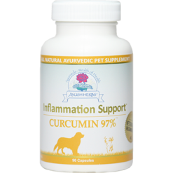 Ayush Herbs Inflammation Sup Curcumin 97 90 caps AYV5