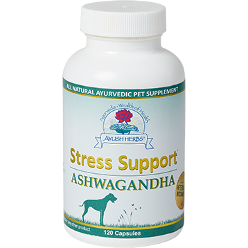 Ayush Herbs Stress Support Ashwagandha 120 caps AYV3