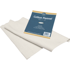 Baar Products Cotton Flannel for Castor Oil 1 pack COTT2