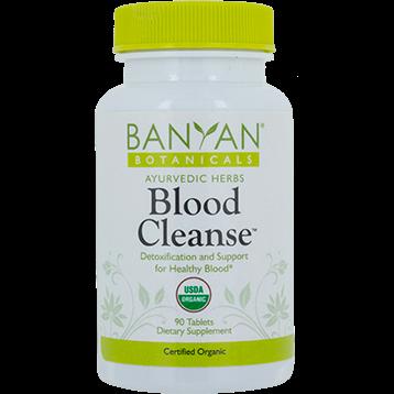 Banyan Botanicals Blood Cleanse Organic 90 tabs BLO11
