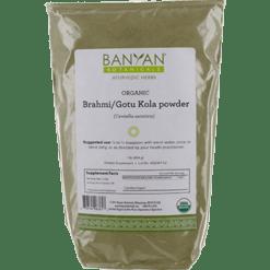 Banyan Botanicals Brahmi Gotu Kola Leaf Pwdr Organic 1 lb BRAH2