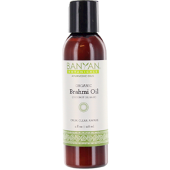 Banyan Botanicals Brahmi Oil Coconut Organic 4 oz BRAH3