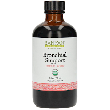 Banyan Botanicals Bronchial Support Syrup Organic 4 fl oz B27011