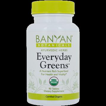 Banyan Botanicals Everyday Greens Tablets Organic 180 tabs B12611
