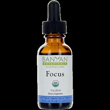 Banyan Botanicals Focus Liquid Extract Organic 1 fl oz B26811