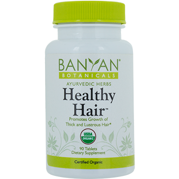 Banyan Botanicals Healthy Hair Organic 90 tabs HEA30