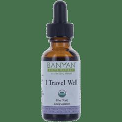 Banyan Botanicals I Travel Well Liquid Organic 1 oz B26410