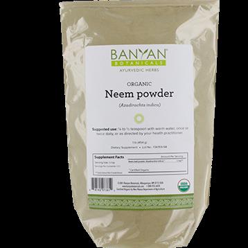 Banyan Botanicals Neem Leaf Powder Organic 1 lb NEEM9