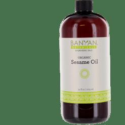 Banyan Botanicals Sesame Oil Organic 34 fl oz SESA2