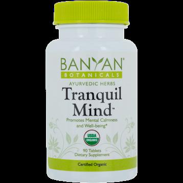Banyan Botanicals Tranquil Mind 500 mg 90 tabs TRANQ