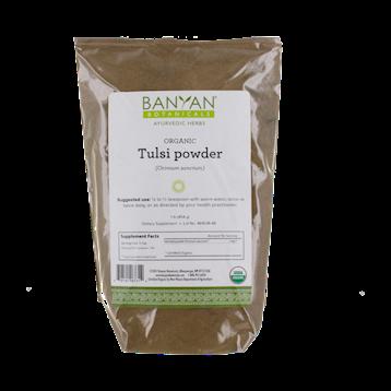 Banyan Botanicals Tulsi Leaf Powder Organic 1 lb TULSI