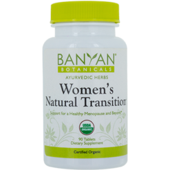 Banyan Botanicals Womens Natural Transition Org 90 tabs B13618