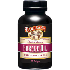 Barleans Borage Oil 1000 mg 60 gels BOR19