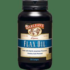 Barleans High Lignan Flax Oil 1000 mg 250 gels LIGN1