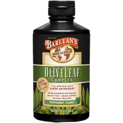 Barleans Olive Leaf Complex Peppermint 16 oz OLI45