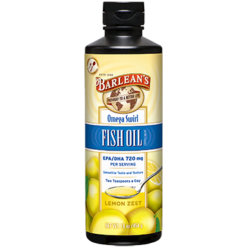 Barleans Omega Swirl Fish Oil Lemon Zest 16 oz B16FL