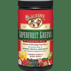 Barleans Superfruit Greens Straw Kiwi 9.52 oz B00100
