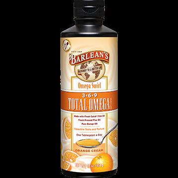 Barleans Total Omega 3 6 9 Orange Cream 16 oz OMEG13