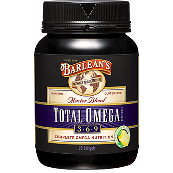 Barleans Total Omega Lemonade 1000 mg 90 gels TOT22