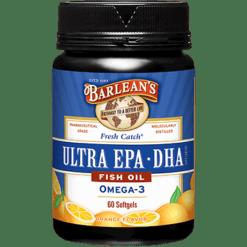 Barleans Ultra EPA DHA Fish Oil 60 softgels EPAD1