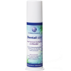 Bio Botanical Research Dentalcidin Toothpaste Biocidin 4 oz B02173