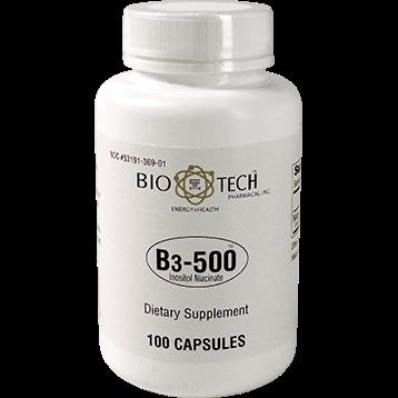 Bio Tech B3 500 100 caps B96209