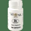 Bio Tech D3 Cholecalciferol 1000 IU 100 caps B00807