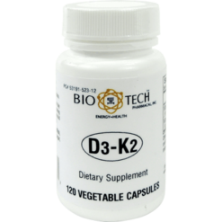 Bio Tech D3 K2 120 vegcaps B15207