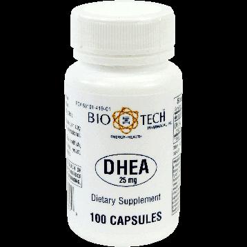 Bio Tech DHEA 25 mg 100 caps DHE39