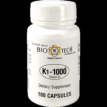 Bio Tech K1 1000™ Vitamin K 1 100 caps VIK1