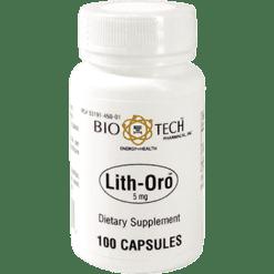 Bio Tech Lith Oro 5 mg 100 caps LITOR