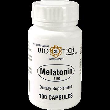 Bio Tech Melatonin 1 mg 100 caps MEL36