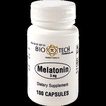 Bio Tech Melatonin 3 mg 100 caps B07400